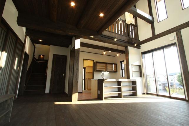 伝統工法でつくる古民家風住宅