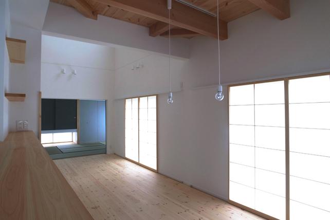 吉田法花堂の家