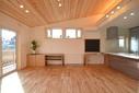 松本市扇子田の家